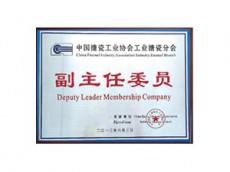 中国搪瓷工业协会工业搪瓷分会副主任委员